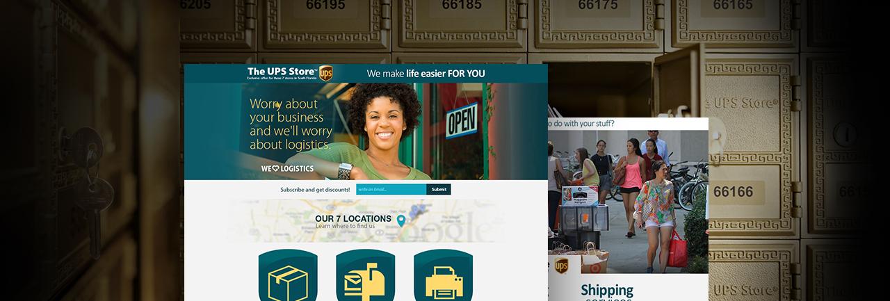 Responsive web design The UPS Store Miami Florida