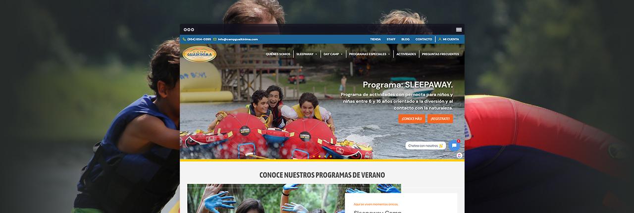 Agencia de Ecommerce Miami CampGuaikinima