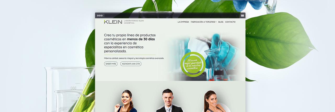 Desarrollo Web Corporativo Laboratrios Klein