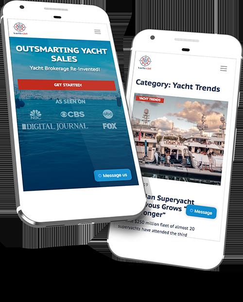 Agencia Web Miami Yacht Girl